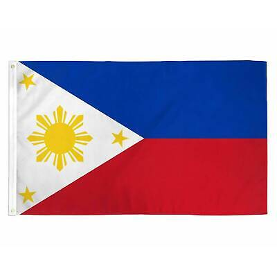PHILIPPINES FILIPINO FLAG 3×5 FT National Country Banner Pinoy With Grommets Décor