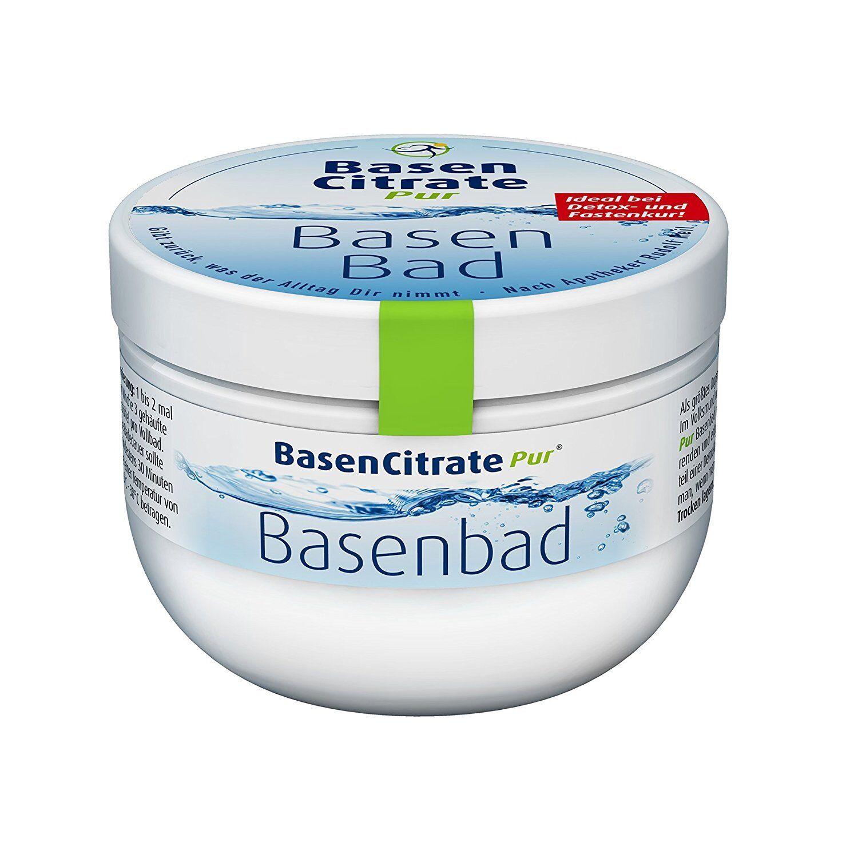 Madena BasenCitrate Pur Basenbad Pulver Badezusatz Hautpflege Fastenkur 500g