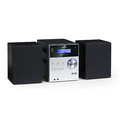 Micro Bluetooth Stereoanlage USB MP3 DAB+ Digitalradio CD Player UKW Tuner Boxen