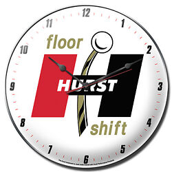 Hurst Gold Floor Shift - 14 Clock - Gasser Decal GTO SS Mustang Camaro