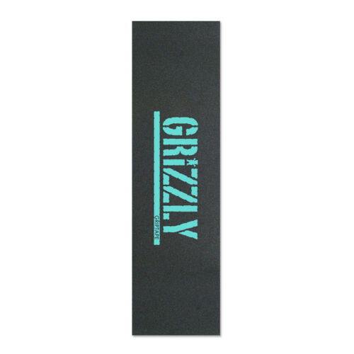 GRIZZLY STAMP OUT Skateboard PERFORATED GRIP TAPE - Black /