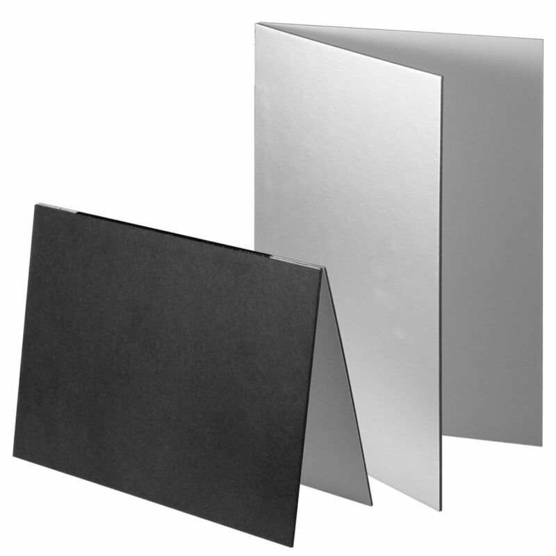 Black & Silver White Reflector Board Plate Panel Thicken Folding Photography