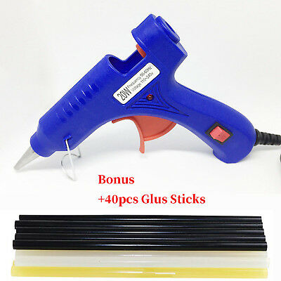 Paintless Dent Repair Kit Hot Melt Glue Gun with 7mm Glue Stick