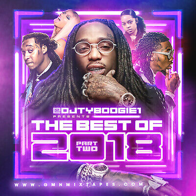 DJ TY BOOGIE - BEST OF 2018 PT. 2 (MIX CD) HIP-HOP, R&B AND BLENDS