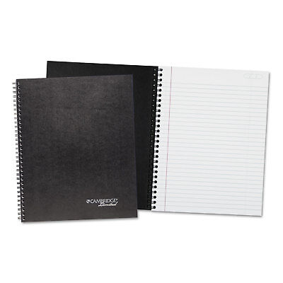 Mead Wirebound Business Notebook Plus Pack 8 78 X 11 Black 80 Sheets 2pack