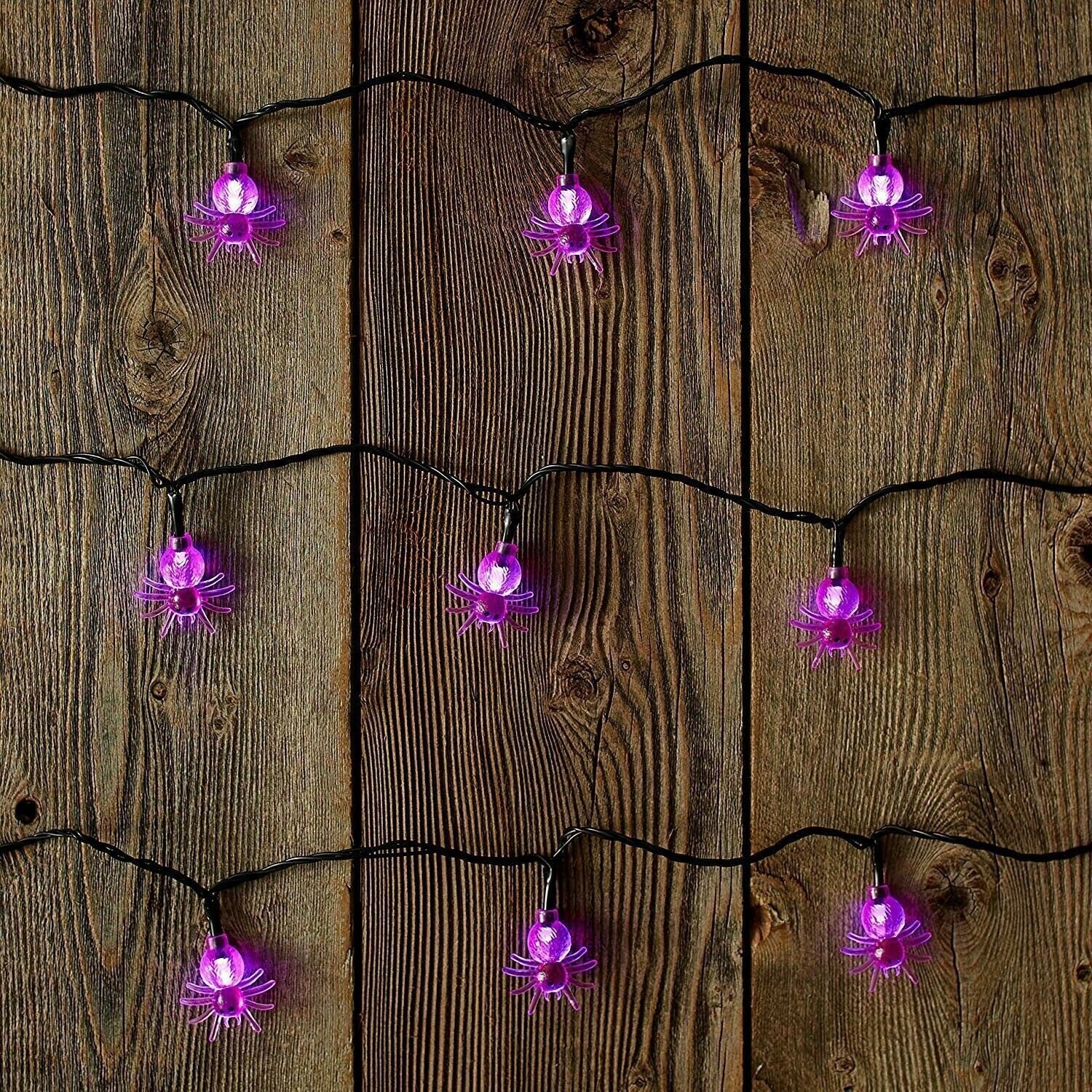 ultraled battery operated spider cap twinkle light