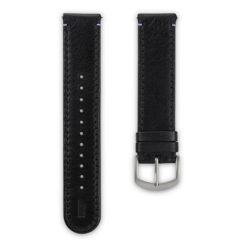 Lilienthal Berlin B004AZ Lederband schwarz Stegbreite 20mm