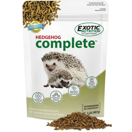 Hedgehog Complete (2 lb.) - Nutritionally Complete High Protein Hedgehog Food