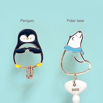Polar Bear Penguin Keychain Key Chain Animal Keyring Pendant Bag Purse Car Decor](Penguin Keychain)