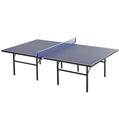 HOMCOM Tavolo da Ping Pong Pieghevole per Indoor Interno in Legno e Acciaio