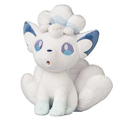 "Alola Vulpix 8"" Doll Sun Moon Pokemon Alolan Animal Stuffed Plush Rare Toy"
