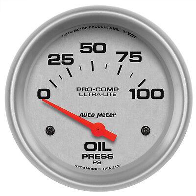 Autometer 4427 Ultra-Lite Oil pressure Gauge 2-5/8 in., Electrical