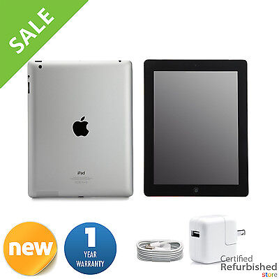 Ipad 2 - New Apple iPad 2 16GB Black Wifi +3G AT&T Tablet w/ 1-Year Warranty