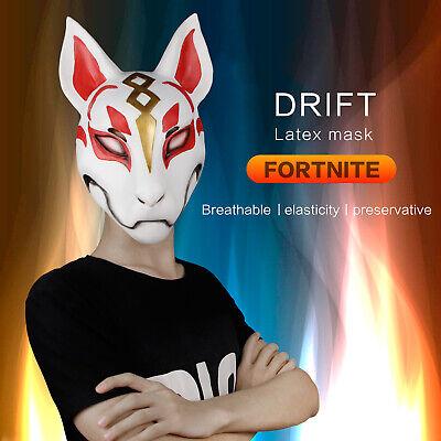 Fox Drift Mask Helmet Men Women Masquerade Cosplay Costume Party Cosplay (Masquerade Costumes Men)
