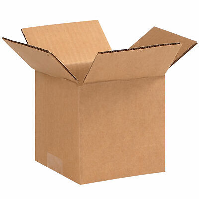 5 X 5 X 5 Cube Cardboard Corrugated Boxes 65 Lbs Capacity Ect-32 Lot Of 25