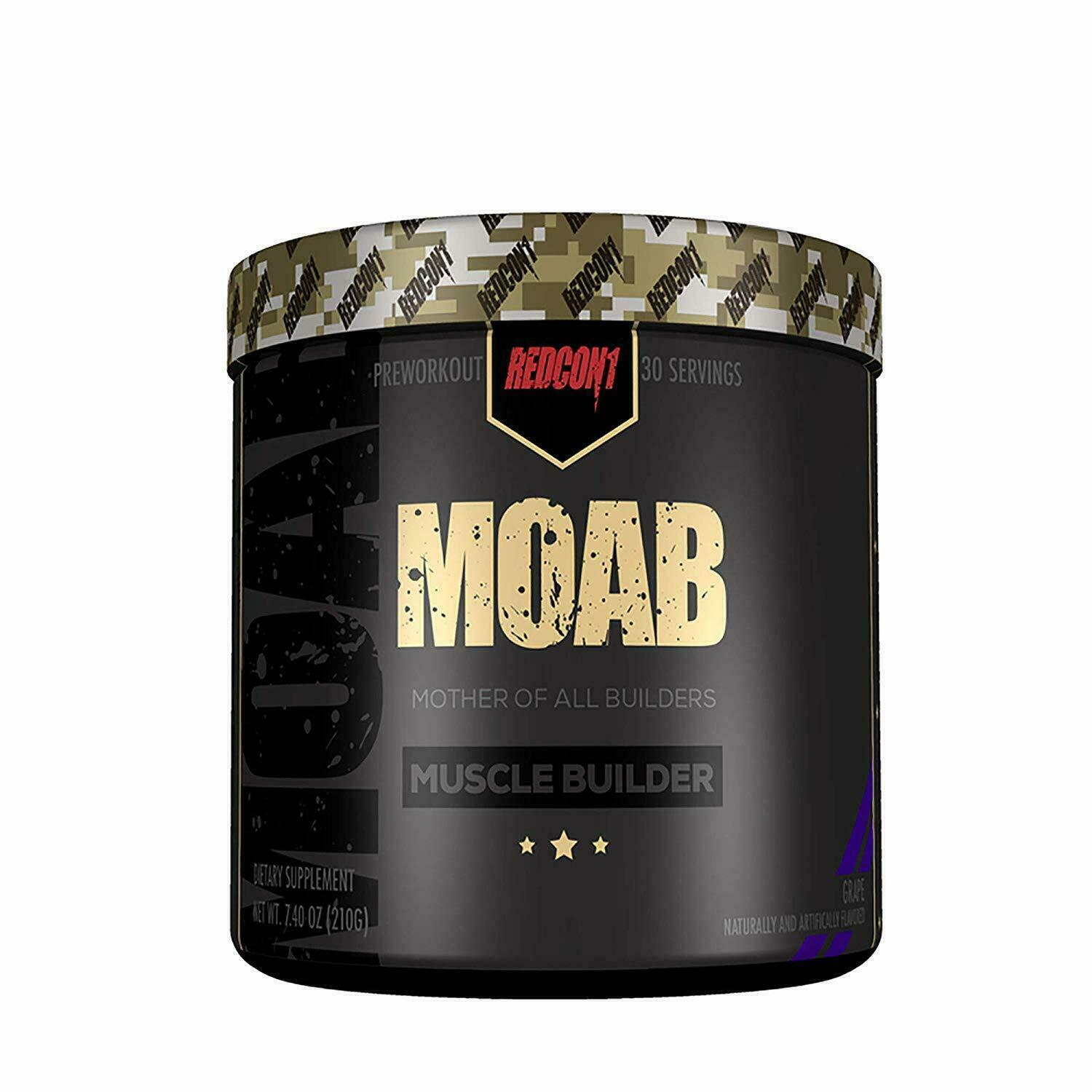 Redcon1 MOAB Muscle Builder 30 Servings + FREE SHAKER - ALL FLAVORS FREE SHIP  2