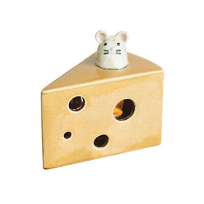 """Kalalou Mouse in Cheese Night Light - Swiss Cheese Wedge Accent Light, 4""""x6""""x6"""""""