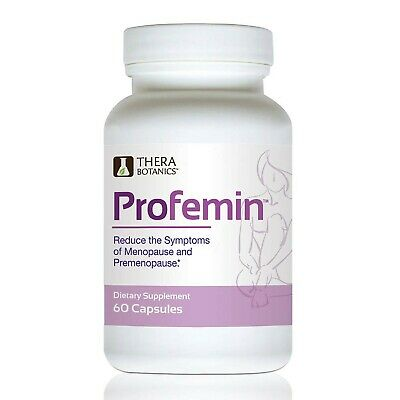Profemin Natural Supplement for Women- Daily Menopause Relief Supplements-1 M...