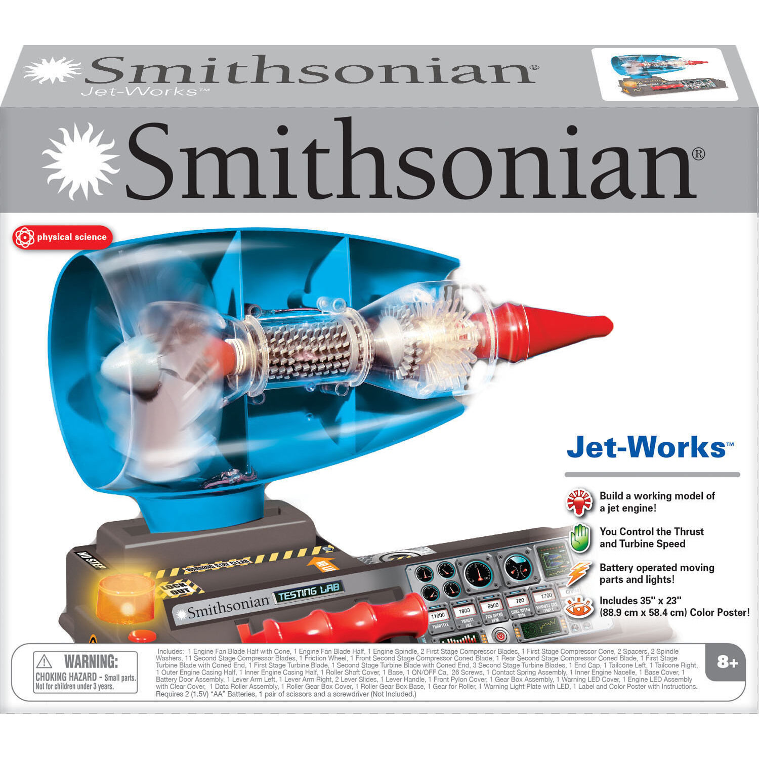 Educational Toys For 8 Year Olds Jet Engine Model Kit Science