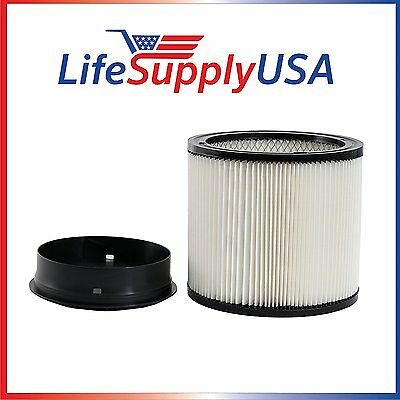 Replacement Filter for ShopVac 90304 Shop Vac Type U Cartridge Ring Included