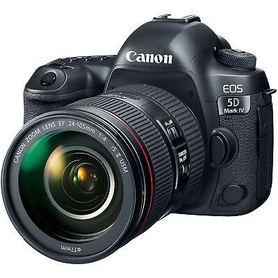 Easter Sellathon Canon EOS 5D Mark IV 30.4 Mp Dslr Camera + Ef 24-105mm f/4L II