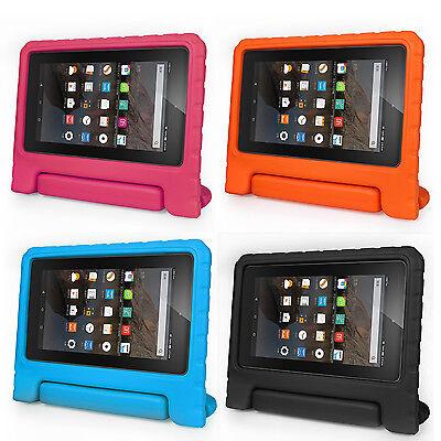 "For Amazon Kindle Fire 7 7"" 5th Gen 2015 Case Kids Safe Foam Shock Proof Handle"