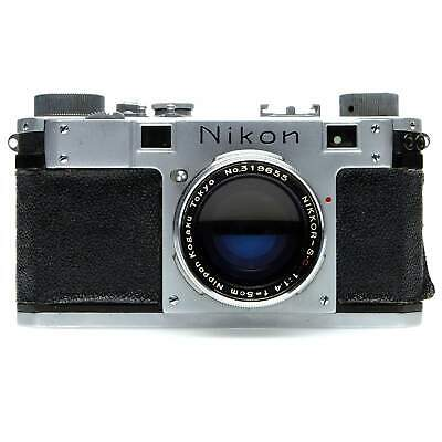 Nikon M Tokyo Red Sync Film Rangefinder Camera Body (Silver) for sale  Shipping to India