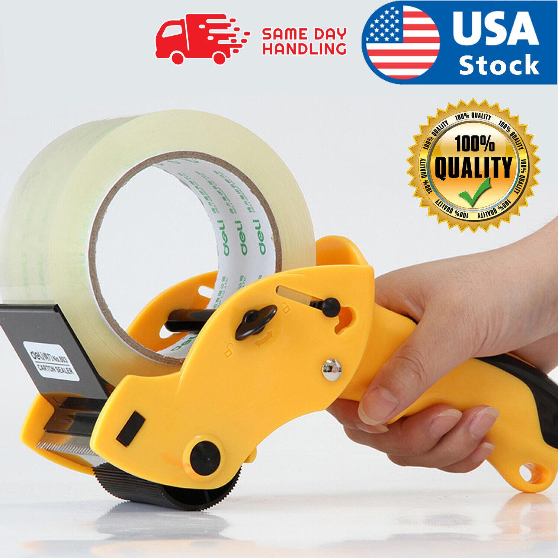 Heavy Duty Tape Gun Dispenser Packing Machine Shipping Grip Sealing Roll Cutter Business & Industrial