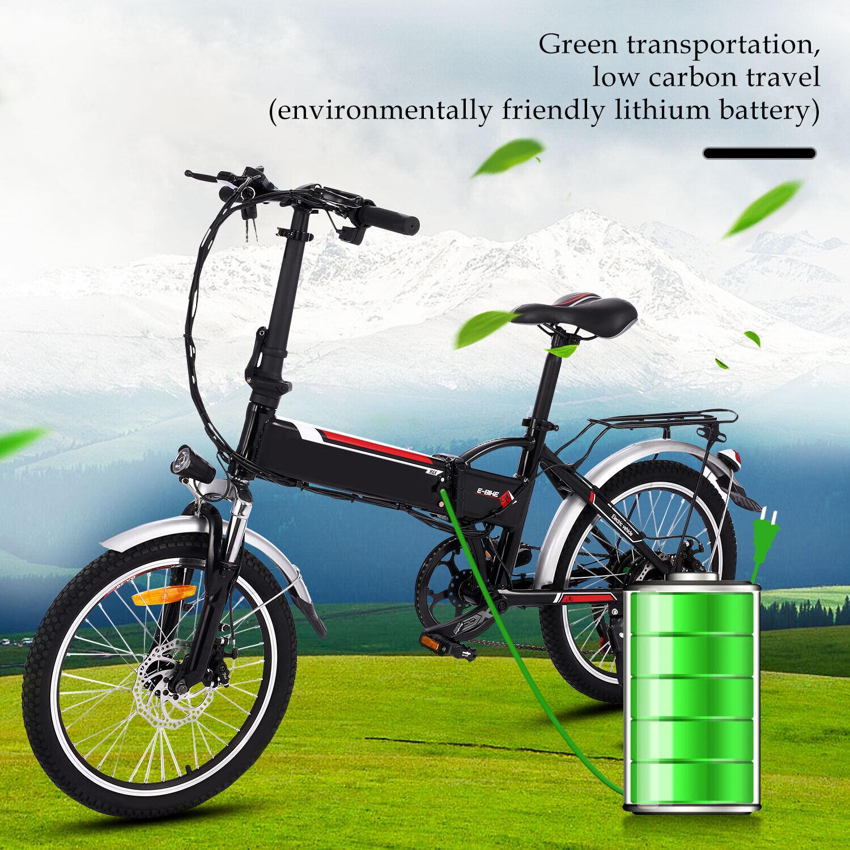 Faltbar Elektrofahrrad E-Bike Klapprad Mountainbike Tegernsee Bergbike 20 Zoll