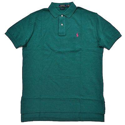 Men's Polo Ralph Lauren CUSTOM Fit Mesh PONY Shirt Short Sleeve Salisbury XS-M Custom Fit Mesh Shorts