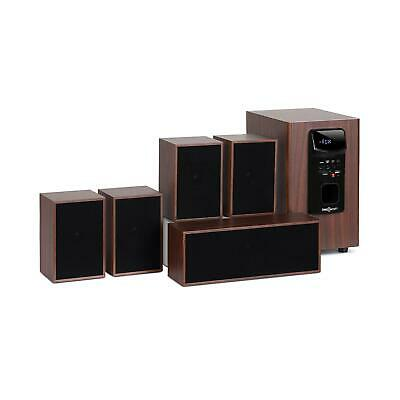 Home Theater Sistema 5.1 Cinema 45W RMS Sound System Altoparlanti Casse Diffus