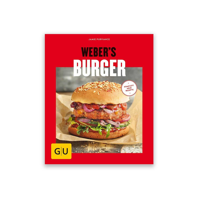 Grillbuch: Weber's Burger von Jamie Purviance, mit ca. 80 Farbfotos | Kochbuch
