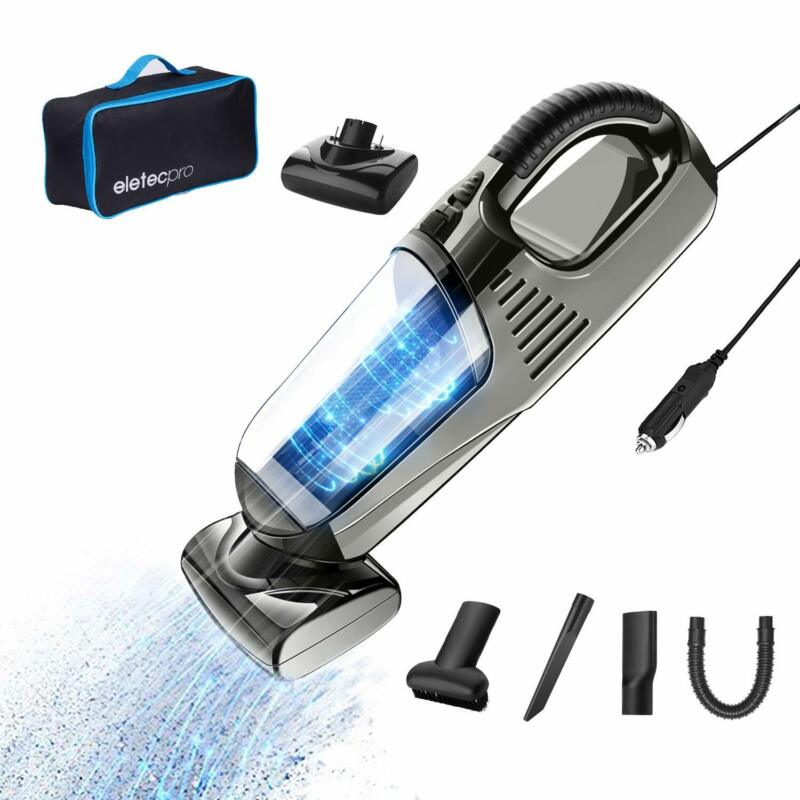 Handheld Car Vacuum Cleaner Corded DC 12V High Power For Aut