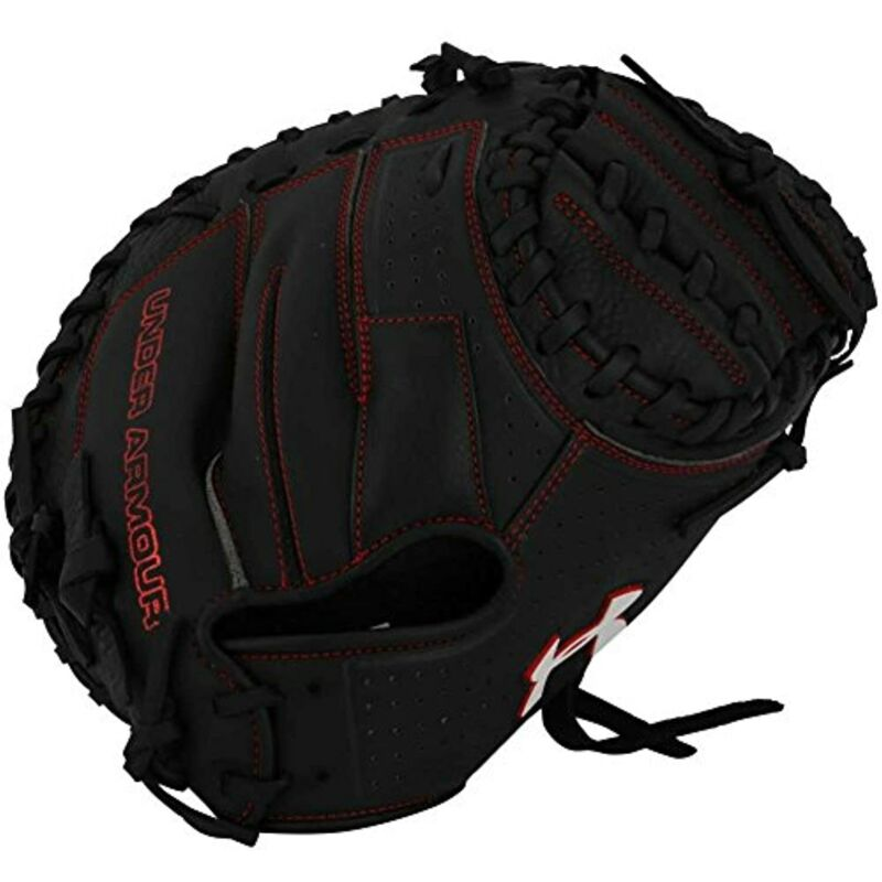 Under Armour Baseball UACM-100 Framer Series Baseball Catching Mitt, Black,