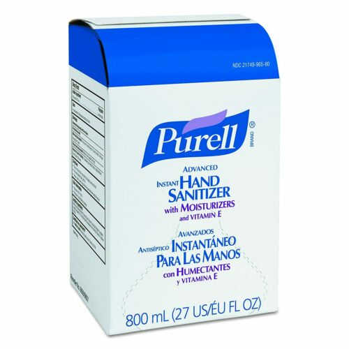PUREL Refill for Bag-in-Box Dispenser - 9656-06 - 800 mL
