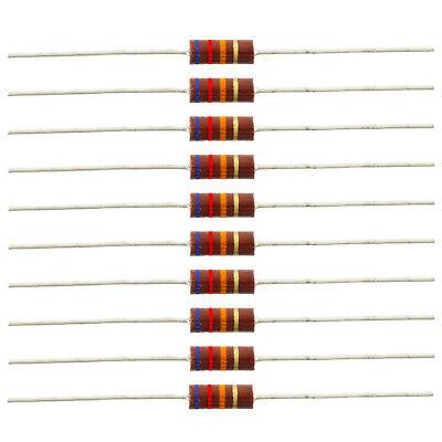 12 Watt Carbon Comp Resistors - 62k Ohm 10 Pack
