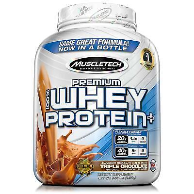 MuscleTech Premium 100% Whey Protein, Chocolate (5 lbs.) *BEST DEALS IN (Best Chocolate Whey Protein)