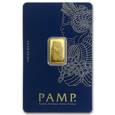 2 5 Gram Gold Bar   Pamp Suisse Lady Fortuna Veriscan  In Assay    Sku  82248