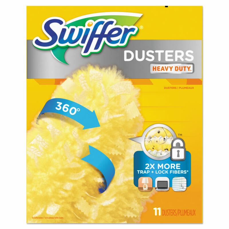 "Swiffer 360 Dusters Refill, Dust Lock Fiber, 2"" X 6"", Yellow, 33/Carton 99035"