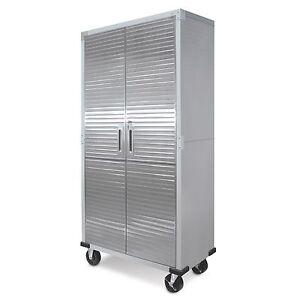 metal garage cabinets ebay. Black Bedroom Furniture Sets. Home Design Ideas