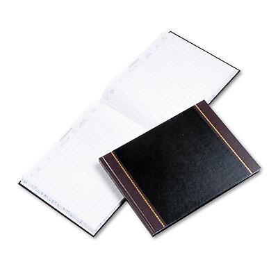 Wilson Jones Detailed Visitor Register Book Black Cover 208 Ruled Pages 9 1/2 (Detailed Visitor Register Book)