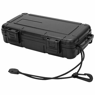 Pistol Gun Case Hard Flight Case Tool Portable Secure Storage Box W/Foam & Strap