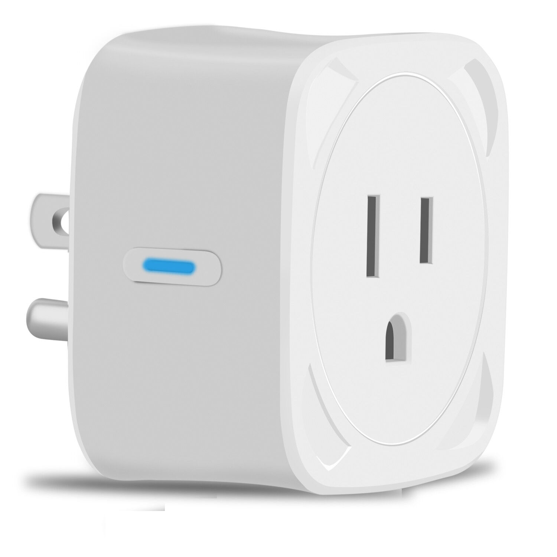 Mini Wifi Smart Plug Power Socket Timer Outlet Alexa Google Home Remote Control