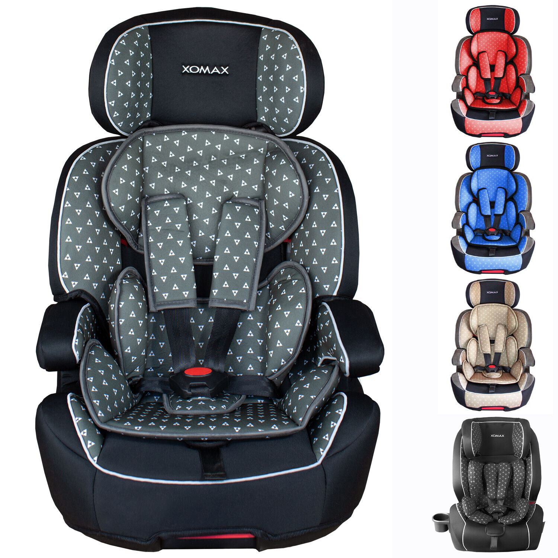 IsoFIX Auto Kindersitz 9 bis 36KG Gruppe 1 2 3 ECE Autositz verschiedene Farben