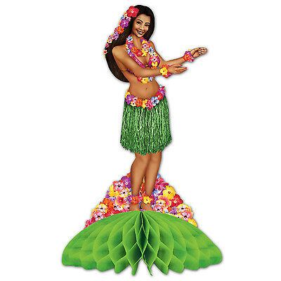Luau HULA GIRL CENTERPIECE PARTY Decoration TROPICAL ISLAND Beach