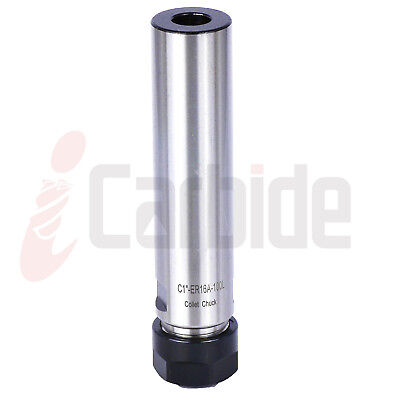 New 1 Straight Shank Tool Holder C1 Er16 100l Collet Chuck Usa Sell
