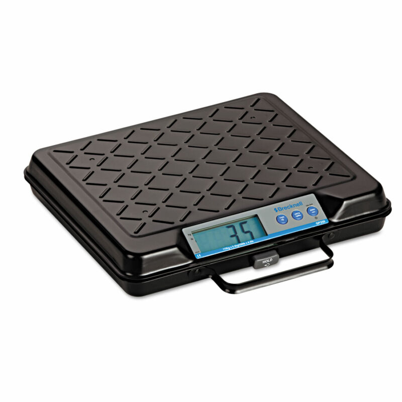 Brecknell Portable Electronic Utility Bench Scale 250lb Capacity 12 x 10