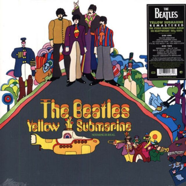 The Beatles - Yellow Submarine - New 180g Vinyl LP - Stereo Remastered