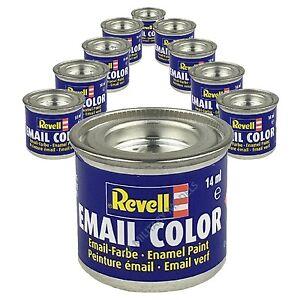 9 X Revell Enamel Model Paints (14ml) - Choose your Colours
