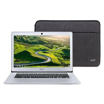 "Acer Chromebook 14, Intel Atom x5-E8000 Quad-Core Processor, 14"" HD, 4GB LPDDR3,"